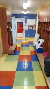 Cirage plancher de classe